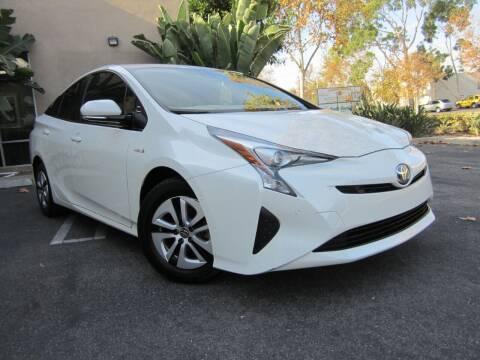 2018 Toyota Prius for sale at ORANGE COUNTY AUTO WHOLESALE in Irvine CA