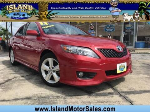 2011 Toyota Camry for sale at Island Motor Sales Inc. in Merritt Island FL