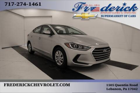 2018 Hyundai Elantra for sale at Lancaster Pre-Owned in Lancaster PA