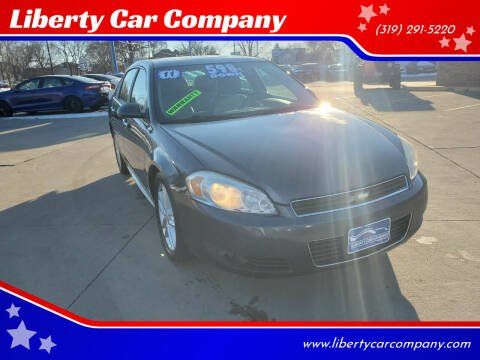 2011 Chevrolet Impala for sale at Liberty Car Company in Waterloo IA