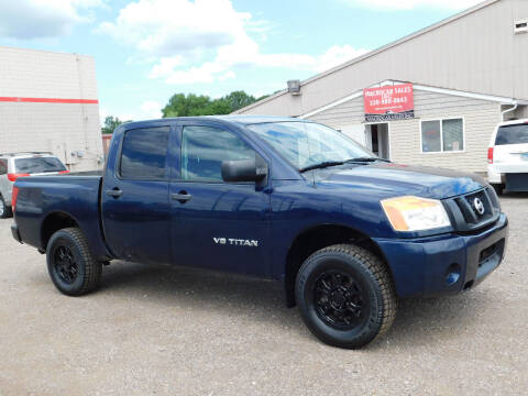 2009 Nissan Titan for sale at Macrocar Sales Inc in Akron OH