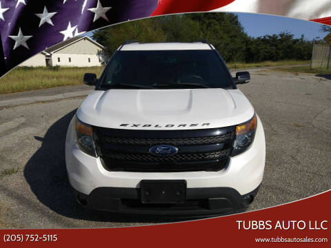2013 Ford Explorer for sale at Tubbs Auto LLC in Tuscaloosa AL