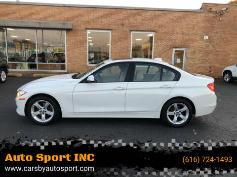 2014 BMW 3 Series for sale at Auto Sport INC in Grand Rapids MI