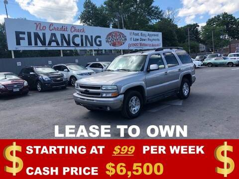 2005 Chevrolet Tahoe for sale at Auto Mart USA in Kansas City MO