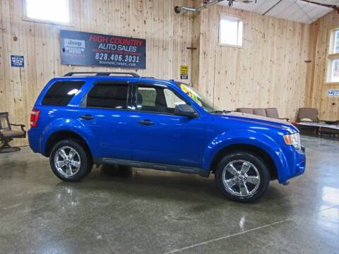 2011 Ford Escape for sale at Boone NC Jeeps-High Country Auto Sales in Boone NC