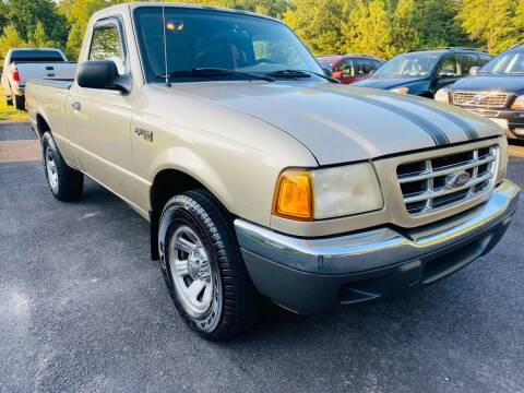 2001 Ford Ranger for sale at MBL Auto Woodford in Woodford VA