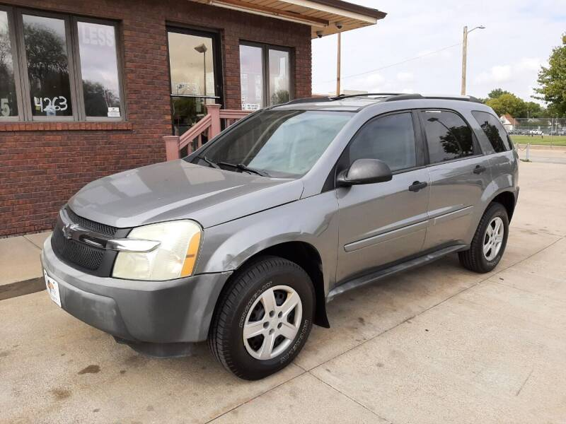2005 Chevrolet Equinox for sale at CARS4LESS AUTO SALES in Lincoln NE