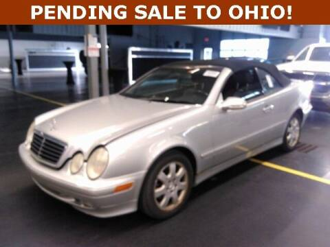 2000 Mercedes-Benz CLK for sale at St. Croix Classics in Lakeland MN