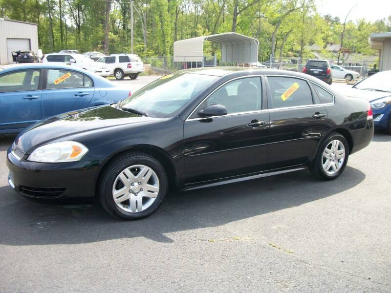 2013 Chevrolet Impala for sale at Lentz's Auto Sales in Albemarle NC
