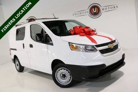 2018 Chevrolet City Express Cargo for sale at Unlimited Motors in Fishers IN