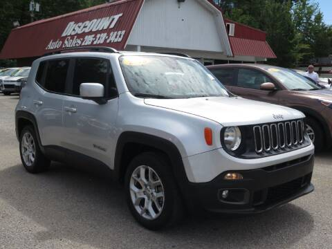 2018 Jeep Renegade for sale at Discount Auto Sales in Pell City AL