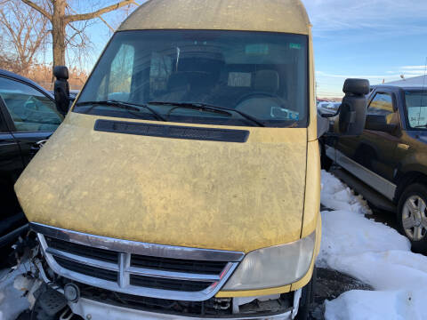 2006 Dodge Sprinter Cargo for sale at JerseyMotorsInc.com in Teterboro NJ