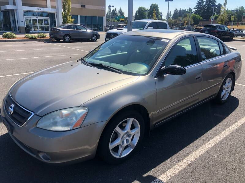 2003 Nissan Altima for sale at Blue Line Auto Group in Portland OR