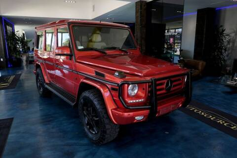 2015 Mercedes-Benz G-Class for sale at OC Autosource in Costa Mesa CA