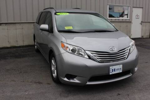 2016 Toyota Sienna for sale at Harbor Auto Sales in Hyannis MA