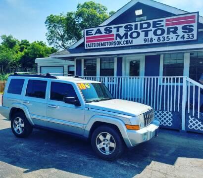 2010 Jeep Commander for sale at EASTSIDE MOTORS in Tulsa OK