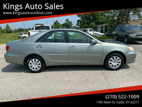 2005 Toyota Camry for sale at Kings Auto Sales in Cadiz KY