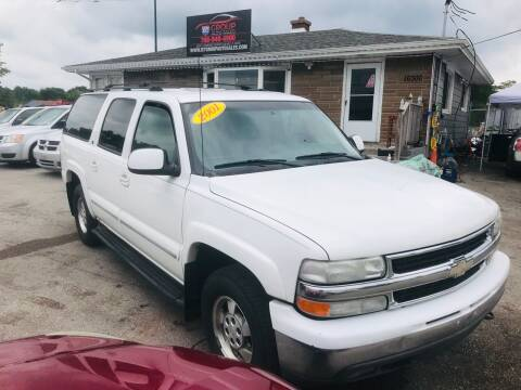 2001 Chevrolet Suburban for sale at I57 Group Auto Sales in Country Club Hills IL