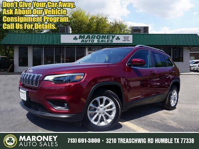 2019 Jeep Cherokee for sale at Maroney Auto Sales in Humble TX