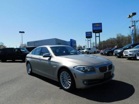 2011 BMW 5 Series for sale at Radley Cadillac in Fredericksburg VA