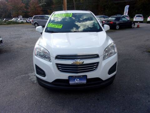 2015 Chevrolet Trax for sale at Balic Autos Inc in Lanham MD