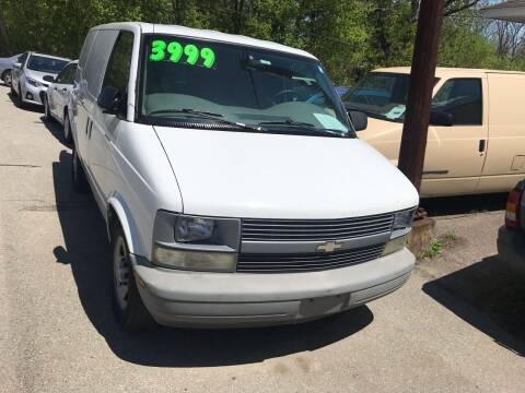 2005 Chevrolet Astro Cargo for sale at Stan's Auto Sales Inc in New Castle PA