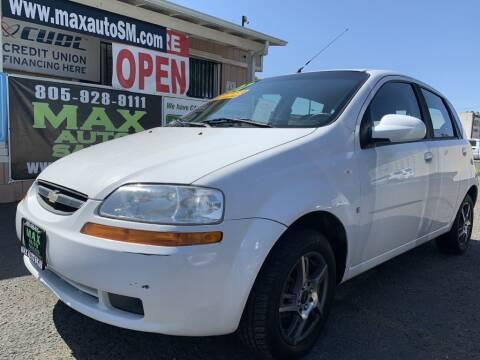2007 Chevrolet Aveo for sale at Max Auto Sales in Santa Maria CA