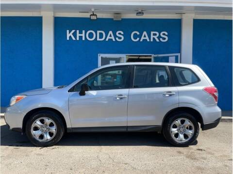 2015 Subaru Forester for sale at Khodas Cars in Gilroy CA