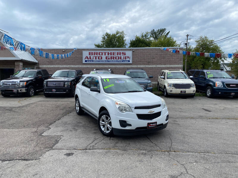 2012 Chevrolet Equinox for sale at Brothers Auto Group in Youngstown OH