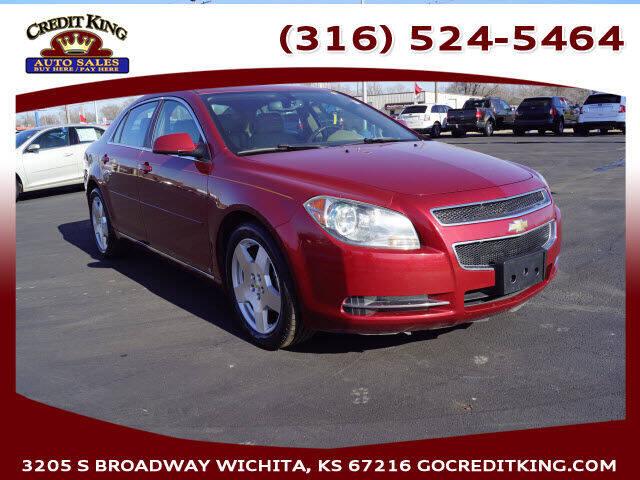2009 Chevrolet Malibu for sale at Credit King Auto Sales in Wichita KS