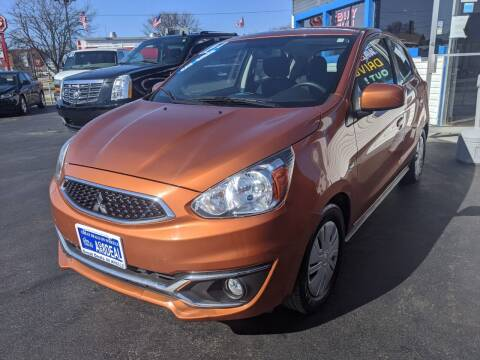 2017 Mitsubishi Mirage for sale at GREAT DEALS ON WHEELS in Michigan City IN