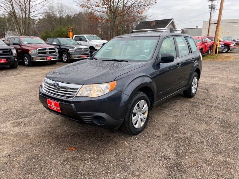 2009 Subaru Forester for sale at AutoMile Motors in Saco ME