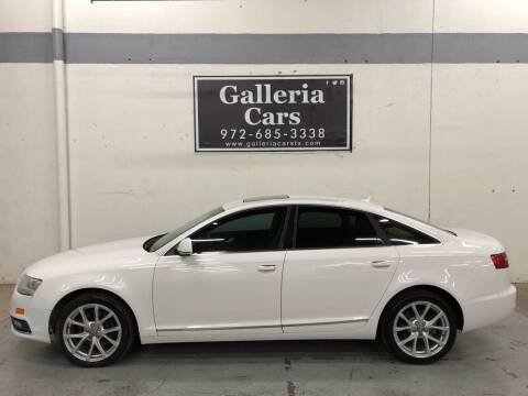 2010 Audi A6 for sale at Galleria Cars in Dallas TX