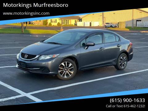 2015 Honda Civic for sale at Motorkings Murfreesboro in Murfreesboro TN