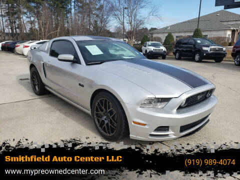 2014 Ford Mustang for sale at Smithfield Auto Center LLC in Smithfield NC