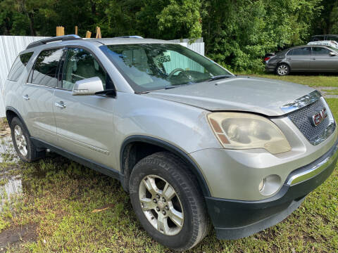 2007 GMC Acadia for sale at Carlyle Kelly in Jacksonville FL