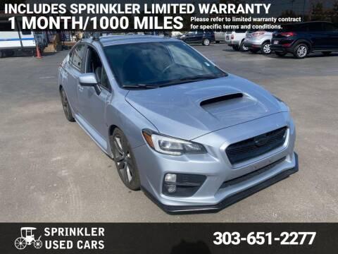 2017 Subaru WRX for sale at Sprinkler Used Cars in Longmont CO