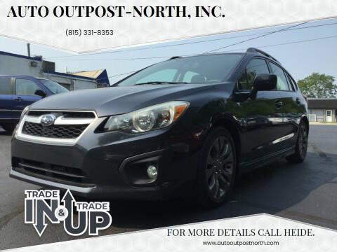 2014 Subaru Impreza for sale at Auto Outpost-North, Inc. in McHenry IL