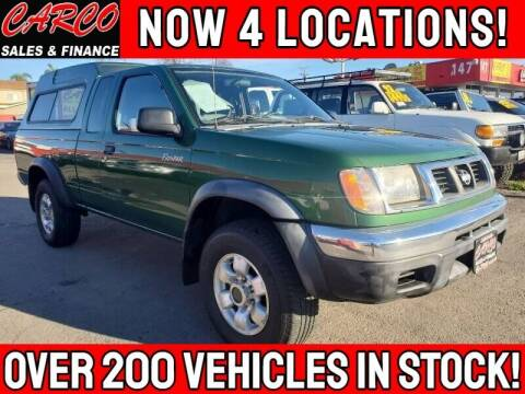 1998 Nissan Frontier for sale at CARCO SALES & FINANCE #3 in Chula Vista CA