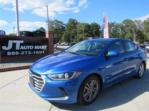 2017 Hyundai Elantra for sale at J T Auto Group in Sanford NC