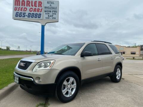 2009 GMC Acadia for sale at MARLER USED CARS in Gainesville TX
