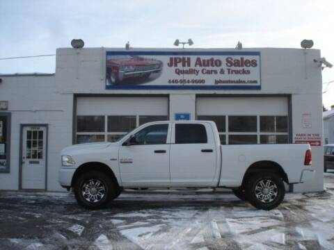 2013 RAM Ram Pickup 2500 for sale at JPH Auto Sales in Eastlake OH