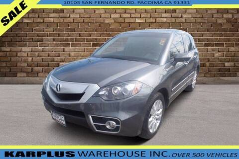 2011 Acura RDX for sale at Karplus Warehouse in Pacoima CA