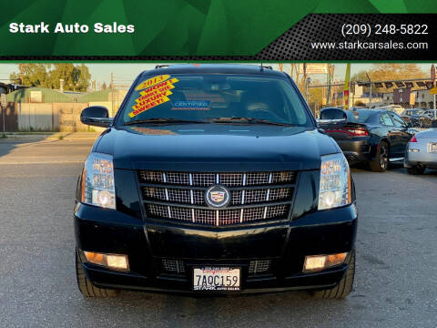 2013 Cadillac Escalade for sale at Stark Auto Sales in Modesto CA