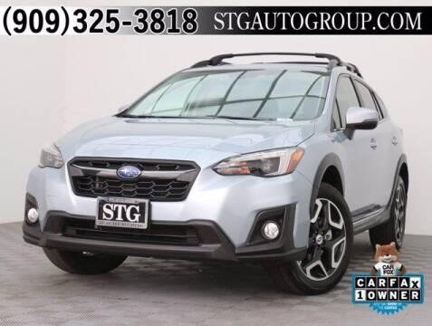 2018 Subaru Crosstrek for sale at STG Auto Group in Montclair CA