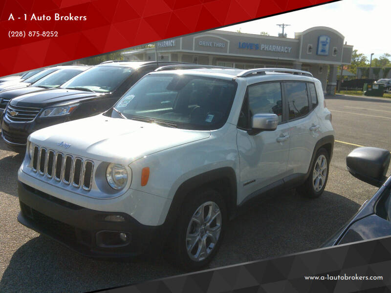2015 Jeep Renegade for sale at A - 1 Auto Brokers in Ocean Springs MS