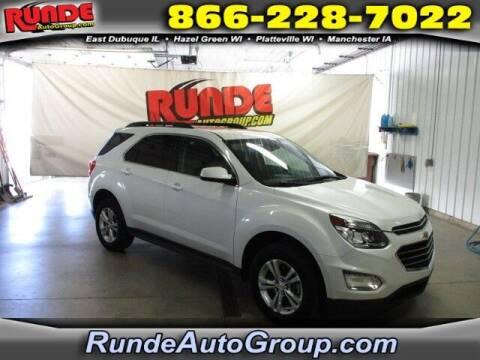 2016 Chevrolet Equinox for sale at Runde PreDriven in Hazel Green WI