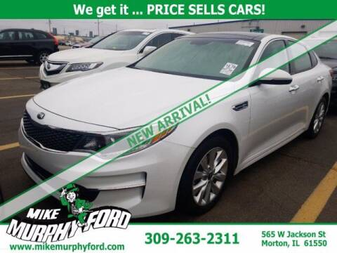 2017 Kia Optima for sale at Mike Murphy Ford in Morton IL