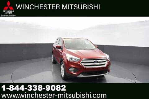 2019 Ford Escape for sale at Winchester Mitsubishi in Winchester VA