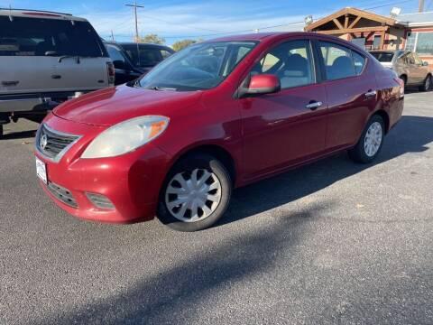 2013 Nissan Versa for sale at Creekside Auto Sales in Pocatello ID